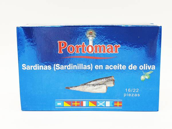 Sardinillas en Aceite de Oliva Portomar